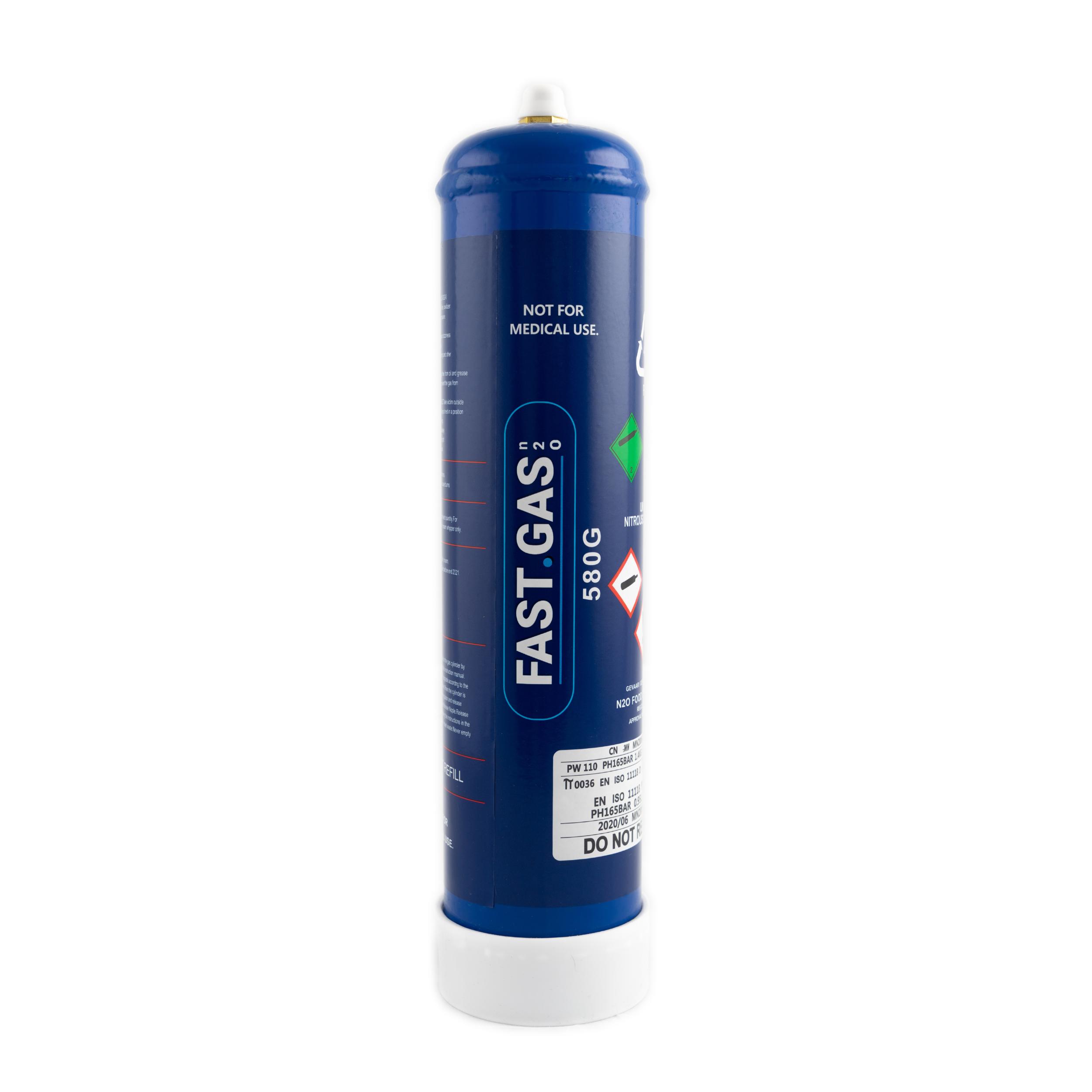 FASTGAS ENGANG LATTERGAS-TANK 580 GRAM.